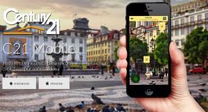 app CENTURY 21 prospección